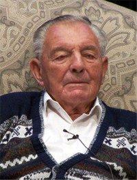 Arthur Burt 100 years old