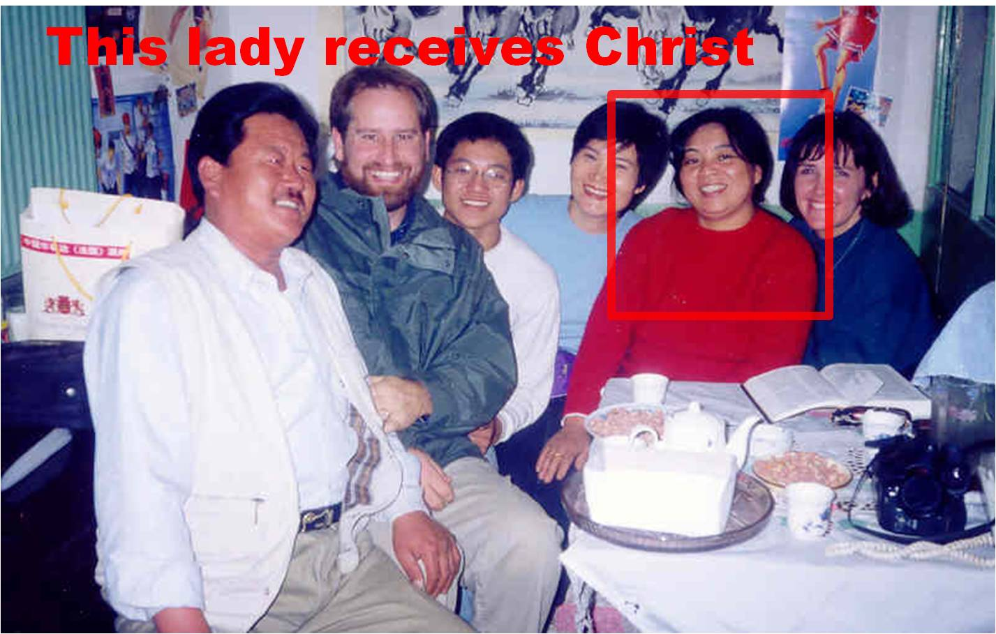 Pastors Steve and Melinda and Friends in Beijing China 1997