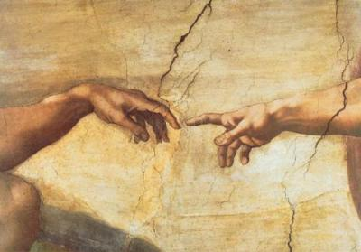 Michelangelo-Creation-of-Adam--Detail--7157